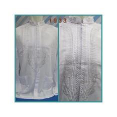 Beli Baju Koko Putih Lengan Oblong Full Disain Simetris 1933 Cicil