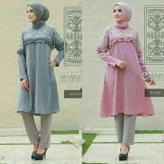 Baju Kondangan / Baju Pesta / Atasan Muslim Wanita Murah : Eyrie Tunik