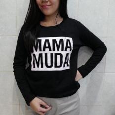 Baju Lengan Panjang Mama Muda Untuk Cewe Tumblr Tee