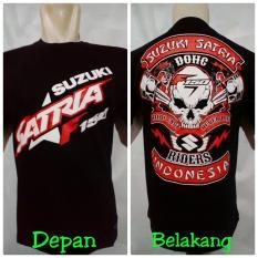 Spesifikasi Baju Motor Kaos Satria F Satria Fu 150 Bonus Stiker Yang Bagus Dan Murah