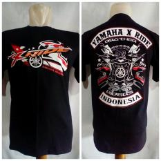 Baju Motor Kaos Yamaha X Ride Bonus Stiker