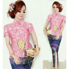 Baju Murah Md Kebaya Katun Rayon - Motif #warna sesuai photo, ready stok, Uk. Standard, M, L, XL, XXL.