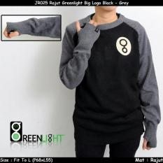 Baju Murah Sweater Rajut Pria SWEATER Pria Rajut Big Logo Greenlight Premium