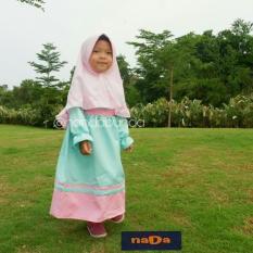 Baju Muslim Anak Perempuan 4-6 Tahun Gamis Polos - Gamis Syari