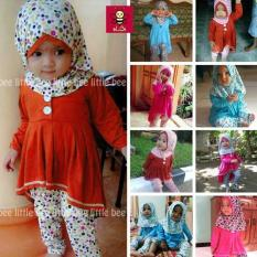Baju Muslim Anak Perempuan Lucu Free Ongkir Surabaya