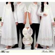 Baju Muslim Elegan Broken White Couple Mst781 - Kull5g