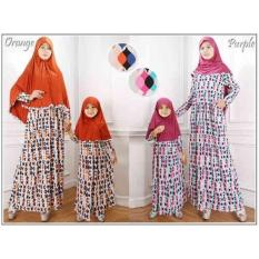 Baju Muslim Gamis Couple Ibu Anak - KC201