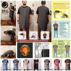 Baju Muslim laki-laki/Rompi Pakaian Sholat/Baju Koko Gamis Pakistan Pria