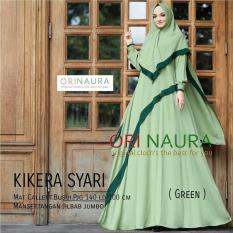 Baju Muslim Original Gamis Kirera Syari Dress Baju Panjang Muslim Casual Wanita Pakaian Hijab Modern Modis Trendy Terbaru 2018