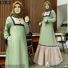 Kumpulan Harga Baju Muslim Gamis Modern Terbaru Murah November 2018