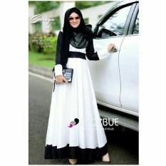 Baju Muslim Original Gamis Suraya Dress Baju Panjang Muslim Casual Wanita Pakaian Hijab Modern Modis Trendy Terbaru 2018