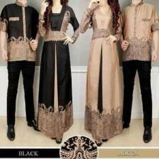 Baju Muslim Sarimbit - Couple Elegan Batik - Busana Elegant Sepasang