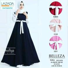 Baju Muslim Wanita Belleza Warna Black