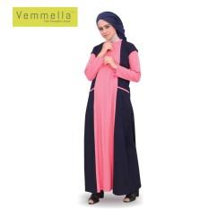 Baju Muslim Wanita / Gamis Vemmella Gemma 01 Salem / Qirani