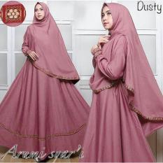 Baju Muslim Pakaian Wanita Muslim Gamis Set Arumi Pita Songket Syari Matt Balotelli Hq Size Xl 6 Color Dki Jakarta Diskon