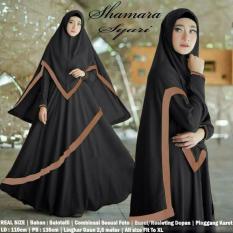 Obral Baju Muslim Pakaian Wanita Muslim Gamis Set Shamara Syari Rok Umbrella Matt Balotelli Hq Size Xl 6 Color Murah