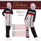 Spesifikasi Baju Olah Raga Senam Bms 16 Black Dan Harga