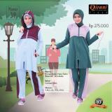 Jual Baju Olahraga Muslimah Qirani Mawar 39 Branded
