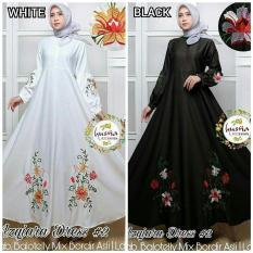Baju Original Azqiara Dress Balotely Gamis Panjang Hijab Casual Pakaian Wanita Muslim Modern Maxy Terbaru Tahun 2018