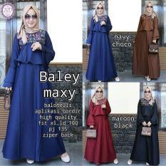 Baju Original Baley Dress Balotely Gamis Panjang Hijab Casual Pakaian Wanita Muslim Modern Maxy Terbaru Tahun 2018