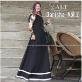 Beli Baju Original Danisha Vol 2 Dress Balotelly Mix Katun Jepang Gamis Panjang Hijab Casual Pakaian Wanita Hijab Modern Warna Hitam Baju Original
