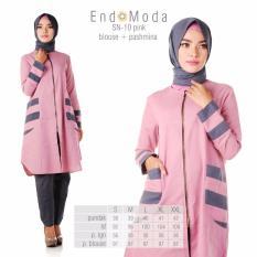 Spesifikasi Baju Original Endo Moda Blouse Atasan Sn 10 Kaos Wanita Baju Muslim Tunik Kemeja Kaos Pink Dan Harganya