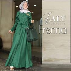 Jual Baju Original Gamis Frenna Dress Baju Panjang Muslim Casual