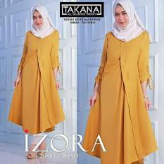 Baju Original Izora Tunik Balotely Atasan Wanita Muslim Modern Pakaian Cewek Santai Simple Casual Trend 2018