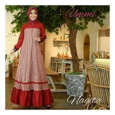 Baju Original Nagita Dress Balloteli Gamis Panjang Hijab Casual Pakaian Wanita Hijab Modern