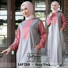 Baju Original New Safira dress Balotely Gamis Panjang Hijab Casual Pakaian Wanita Muslim Modern Maxy Terbaru Tahun 2018