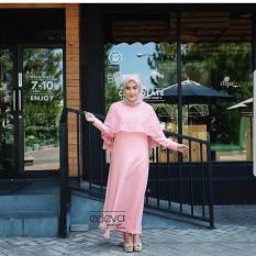 Baju Original Olivia Dress Gamis Muslimah Syari Baju Panjang Wanita Hijab Trendy Pakaian Cewek Modern