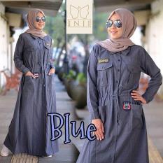 Baju Original Rania Dress Supernova Gamis Panjang Hijab Casual Pakaian Wanita Muslim Modern Maxy Terbaru Tahun 2018