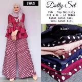 Toko Baju Original Setelan Dotty Set Baju Wanita Hijab Trendy Celana Baju Atasan Modern Modis Casual Trendy Warna Maroon Online Indonesia