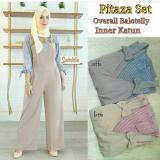 Spesifikasi Baju Original Setelan Pitaza Set Baju Wanita Hijab Trendy Celana Baju Atasan Modern Modis Casual Trendy Warna Coffe Baru