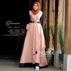 Baju Original Sirena Dress Balotely Gamis Panjang Hijab Casual Pakaian Wanita Muslim Modern Maxy Terbaru Tahun 2018