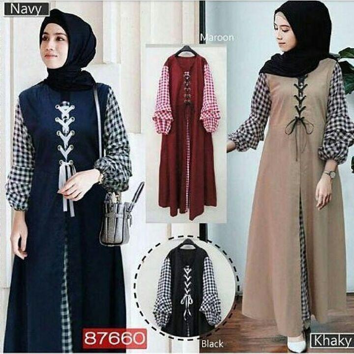 Baju Original Soimah Dress Balotely Gamis Panjang Hijab Casual Pakaian  Wanita Muslim Modern Maxy Terbaru Tahun 613a7416d8