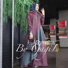 Baju Original Syesha Dress Balotely Gamis Panjang Hijab Casual Pakaian  Wanita Muslim Modern Maxy Terbaru Tahun 0be2599137