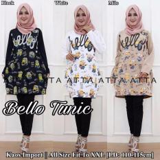 Baju Original Leoni Top Blouse Wolfis Atasan Wanita Muslim Pakaian Hijab  Modern Casual Simple GreyIDR119000. 97555612ed