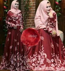 Perbandingan Harga Baju Pakaian Wanita Murah Dress Gaun Gamis Syari Jersey Korea Melar Umbrella 4M Busui By Nurul Collection Kanara Hijab Di Indonesia