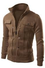 Spesifikasi Baju Panjang Lengan Mendorong Man Dekorasi Ritsleting Dan Keringat Baju Rak Kopi Oem Terbaru