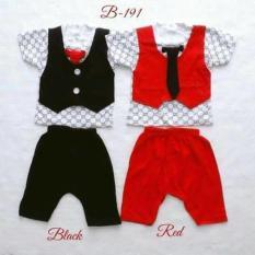 Rp 105.000 baju pesta fashion setelan tuxedo celana dasi anak bayi ...
