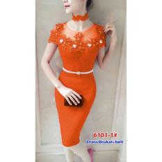 6101-1# baju pesta import / baju seksi / baju pesta selutut / dress fashion import
