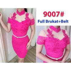 9007# baju pesta import  / gaun pesta import / baju congsam / cheongsam brokat