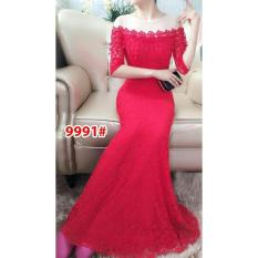 9991# baju pesta import  / gaun pesta import / baju pesta brokat / longdress fashion import / gaunpanjang