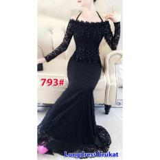 793# baju pesta import  / gaun pesta import / baju pesta brokat / longdress fashion import