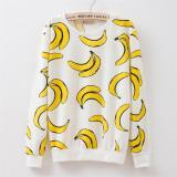 Pusat Jual Beli Baju Banana Sweater Banana Lengan Panjang Terlaris Dki Jakarta