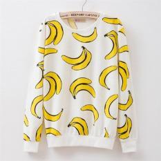 Jual Baju Banana Sweater Banana Lengan Panjang Terlaris Di Dki Jakarta
