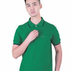 MEMO Bright Sea Green - Baju Polo Slim Fit Crocodile Original - KHUSUS PENJUALAN ONLINE