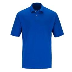 Baju Pria Polo Shirt Polos Pendek - Biru