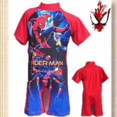 Baju Renang Anak Laki Superhero Swimsuit Anak Baju Renang Anak Murah Baju Renang Anak Merah